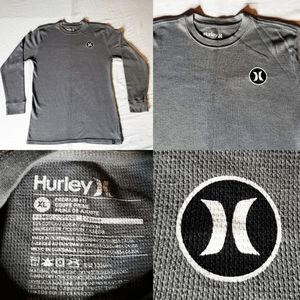 Men's Hurley Thermal L/S Premium Fit Gray Longslee